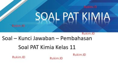 Photo of Download Soal PAS Kimia Kelas 11 Tahun 2020 PDF (UAS Ganjil)