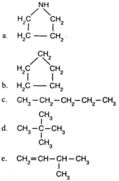 hidrokarbon heterosiklik contoh