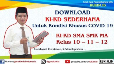 Photo of Download KI KD Sederhana SMA SMK MA Semua Mapel Kelas 10 PDF