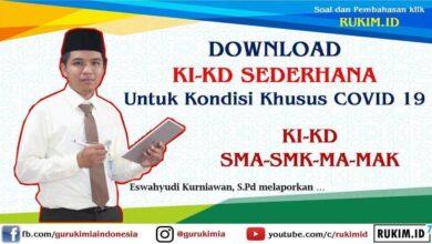 Photo of Download KI KD Sederhana Semua Mapel untuk Kondisi Khusus PDF