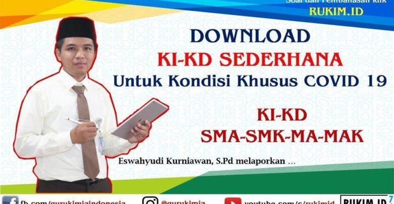 Download KI KD Sederhana SMA SMP SD