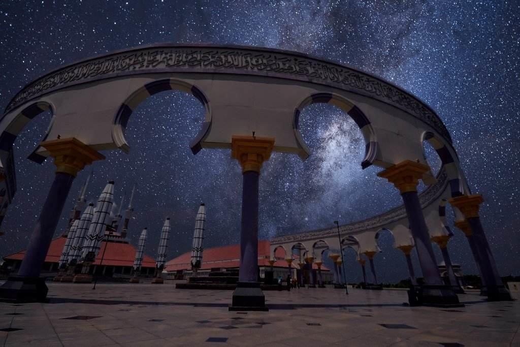 Edit Foto Bintang Bulan HP Xiaomi