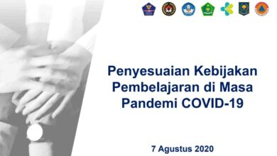 Penyesuaian Kebijakan Pembelajaran di Masa Pandemi COVID 19