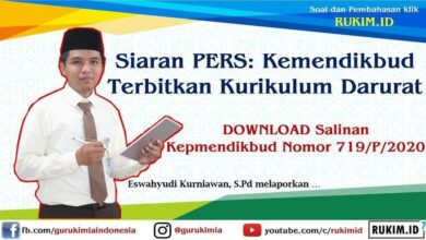 Photo of Download Salinan Kepmendikbud Nomor 719/P/2020