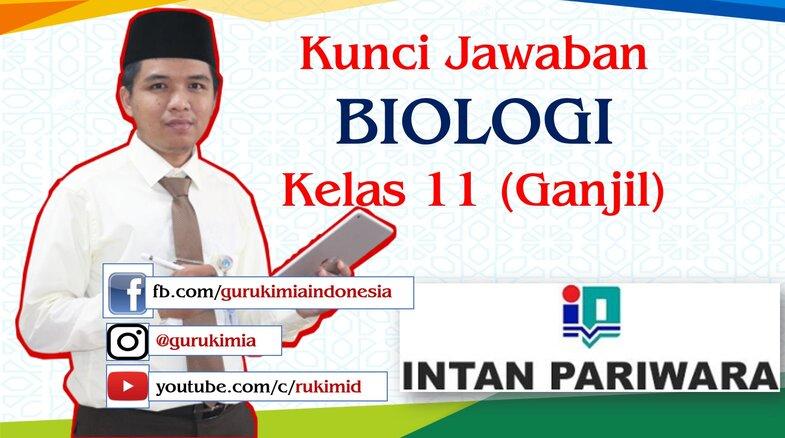 Kunci Jawaban Buku PR Intan Pariwara Biologi Kelas 11 Semester 1 2020 2021