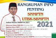 Jadwal SNMPTN 2021