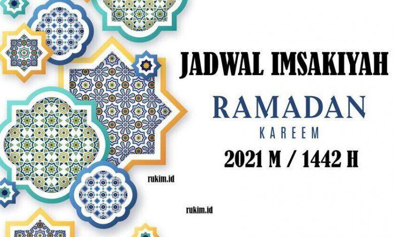 jadwal imsakiyah ramadhan 1442 2021