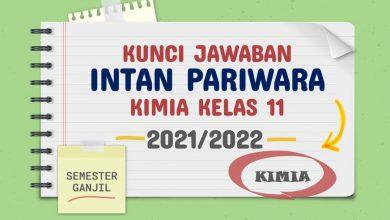 Kunci Jawaban Intan Pariwara Kelas 11 Kimia 2021 2022 Rukim ID Semester Ganjil